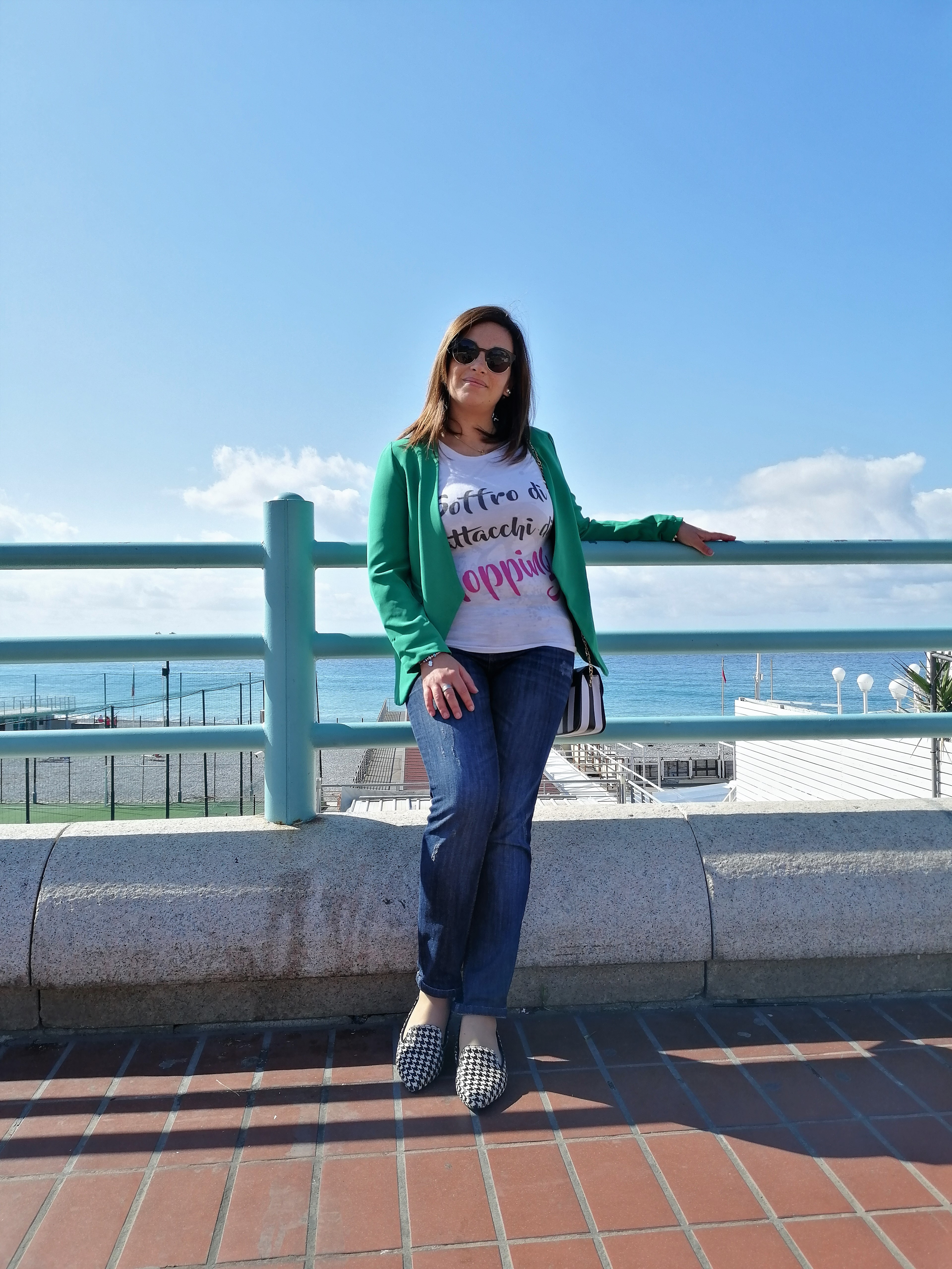 t-shirt e look chic
