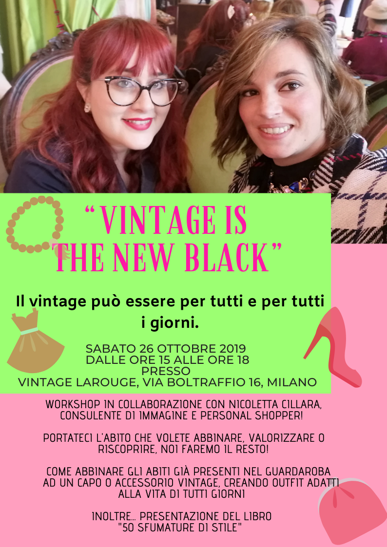 vintage is the new black evento milano